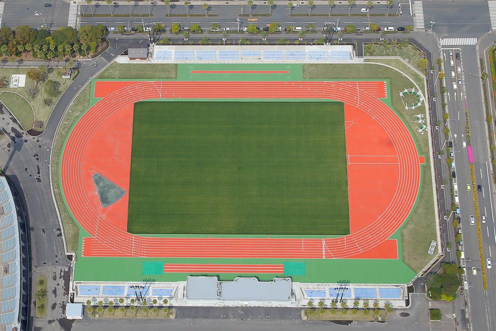 鴨池運動公園補助競技場実施設計・施工管理(鹿児島市)